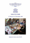 Summerfield Trust 2009 Grants Paid Annual Report
