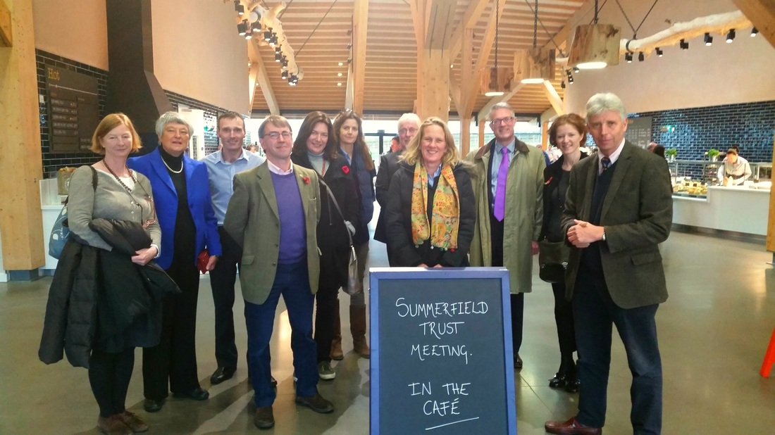 Gloucester Services, Westmoreland, Summerfield Charitable Trust, Sarah Dunning, Mark Gale, Edward Gillespie, James Millar, Anthony McClaran, Vanessa Arbuthnott, Kate Hicks Beach, Lavinia Sidgwick