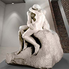 Summerfield Trust News Rodin The Kiss The Wilson Cheltenham